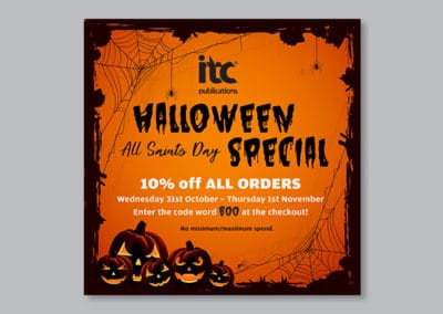 itc Publications Halloween Marketing